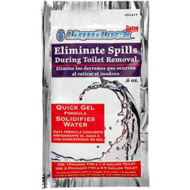 Oatey 31416 Liquilock Gel For Toilet Removal - Pkg Qty 24