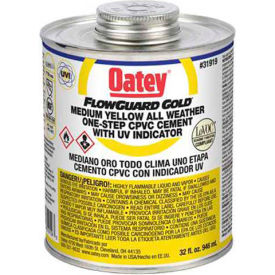 Oatey 31917 All Weather 1-Step FlowGuard Gold With Ultraviolet Indicator 8 oz. - Pkg Qty 24