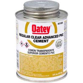 Oatey 31925 PVC Regular Clear Advanced Cement 4 oz. - Pkg Qty 24