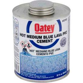 Oatey 32162 PVC Blue Lava Hot Cement 16 oz. - Pkg Qty 24