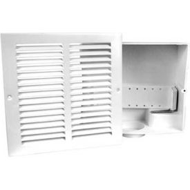 Oatey 39010 Sure-Vent Wall Box with Metal Grille Faceplate - Pkg Qty 12