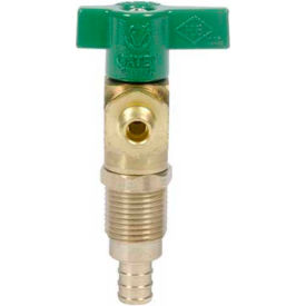 Oatey 39176 Ice Maker Outlet Box Valve 1/4 Turn, Copper, Low Lead