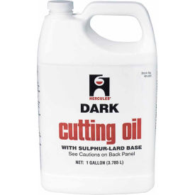 Hercules 40220 Cutting Oil - Dark 1 Gallon - Pkg Qty 6
