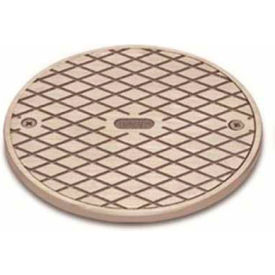 """Oatey 42367 180B Brass Clean Out Frame & Cover 4"""" - Pkg Qty 12"""