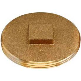"Oatey 42373 185 Brass Cleanout Plug 3-1/2"" - Pkg Qty 12"