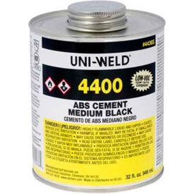 Oatey 4456S 4400 Series ABS Medium Black Cement 8 oz. - Pkg Qty 24