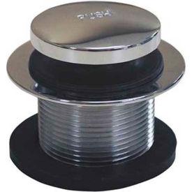 "Dearborn Brass 4597X-1 Plug Only, Uni-Lift 1-1/2"", Chrome 3/8""-16 Stem"