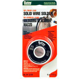 """Oatey 53010 50/50 Wire Solder .075"""" Gauge, 1 oz. - Pkg Qty 12"""