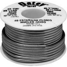 "Oatey 53176 95/5 Acid Core Wire Solder .081"" Gauge, 1/4 lb - Pkg Qty 12"