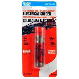 """Oatey 53177 95/5 Rosin Core Wire Solder .063"""" Gauge, 1/4 lb - Pkg Qty 12"""