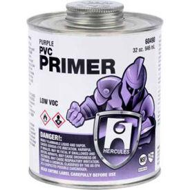 Hercules 60420 Primer For PVC And CPVC - Purple - Dauber In Cap 32 oz. - Pkg Qty 12