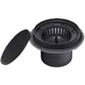 "Oatey 76016 6"" PVC Sediment Drain, Plastic Grate with Bucket"
