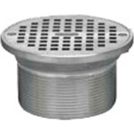 "Oatey 82260 6"" Cast Chrome Square Barrel & Square Chrome Grate"