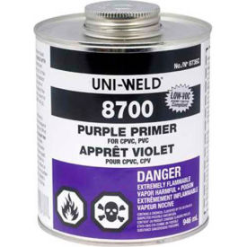 Oatey 8724 8700 Series Purple Primer - NSF Listed 1 Gallon - Pkg Qty 6