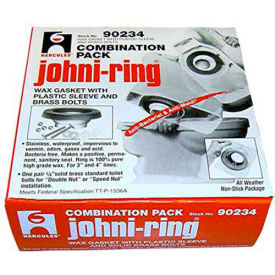 "Hercules 90203 3"" or 4"" Johni-Rings - Jumbo W/Plastic Horn & Xl Bolts, Combo Pack - Pkg Qty 24"