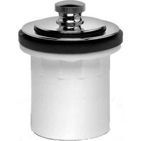 Dearborn Brass P3225D Schedule 40 Bath Waste Quarter Kits PVC Uni-Lift Stopper Chrome Finish Trim - Pkg Qty 20