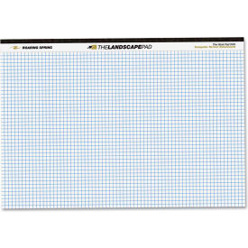 """Roaring Spring® Landscape Writing Pad 74505, 11"""" x 9-1/2"""", White, 40 Sheets/Pad, 1/Pack"""