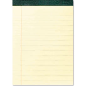"Roaring Spring® Recycled Legal Pad 74712, 8-1/2"" x 11-3/4"", Canary, 40 Sheets/Pad, 12/Pack"