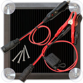 NOCO Solar Battery Charger and Maintainer 2.5 Watt - BLSOLAR2