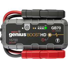 NOCO Genius Boost HD 2000 Amp UltraSafe Lithium Jump Starter - GB70