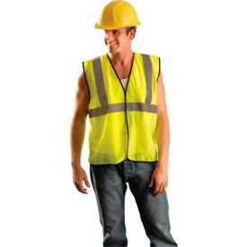 Value Mesh Standard Vest, Hi-Vis Yellow, L/XL