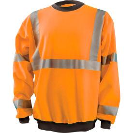 Crew Sweatshirt Hi-Vis Orange 5XL