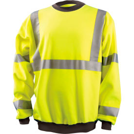 Crew Sweatshirt Hi-Vis Yellow 4XL
