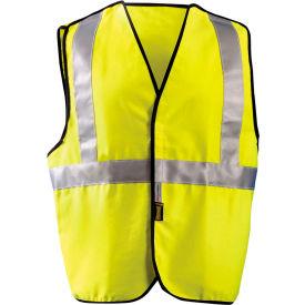 Classic FR 5pt Break-Away Solid Vest Class 2 Hi-Vis Yellow 5XL