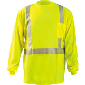 Long Sleeve T-Shirt Segmented Tape Hi-Vis Yellow 5XL