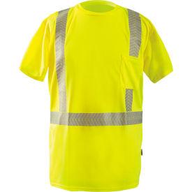 Short Sleeve T-Shirt Segmented Tape Hi-Vis Yellow Small