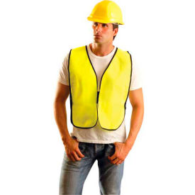 Value Solid Vest, Hi-Viz Yellow,  8XL