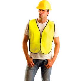 Value Solid Vest, Hi-Vis Yellow, 8XL