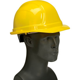 Vulcan Basic Hard Hat with Ratchet Suspension, Yellow