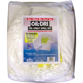 Oil-Dri® Compact Oil-Only Zippered Spill Kit, 5 Gallon Capacity
