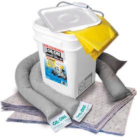 Oil-Dri® Universal Bucket Spill Kit, 5 Gallon Capacity