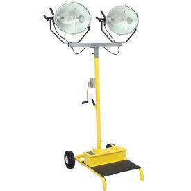 CEP 5322, 1000 Watt Metal Halide Cart Light, Dual