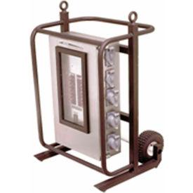 CEP 6220CC, 200 Amp, 3-Phase Power Distribution Cart