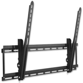"Lorell® Large Tilt Mount For 32"" - 70"" Flat Panel Screens, 150 lb. Capacity, Black"
