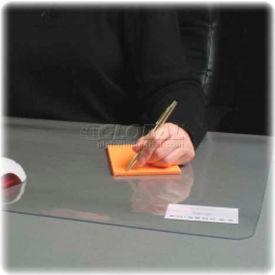 """Lorell® Clear Desk Pad, PVC, 24""""W x 19""""D"""