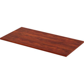 """Lorell® Sit-Stand Utility Desk Table Top - 48""""W x 24""""D - Cherry"""