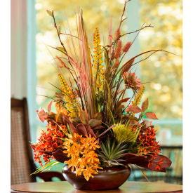 OfficeScapesDirect Summer's Finale Centerpiece Silk Flower Arrangement
