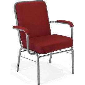 Big and Tall Arm Chair 500 Lbs. Capacity - Wine