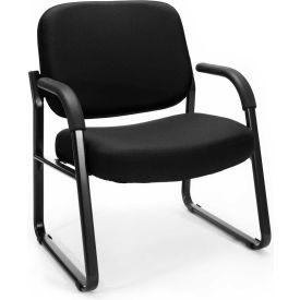 Big & Tall Guest/Reception Chair Black