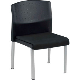 Convertible Chair Armless - Black