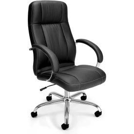 Stimulus Executive Leatherette Hi-Back Chair