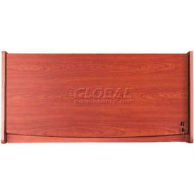 "OFM Hanging Flipper Door Cabinet 37""W, Cherry"