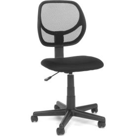 Essentials by OFM E1009 Mesh Back Task Chair, Black