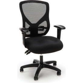 OFM Essentials Series Ergonomic Mesh Office Chair - Black