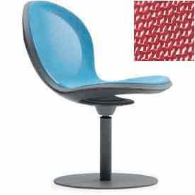 Net Swivel Chair - Red - Pkg Qty 2
