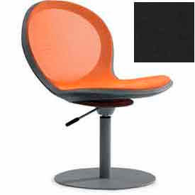 Net Swivel Chair With Gas Lift - Black - Pkg Qty 2